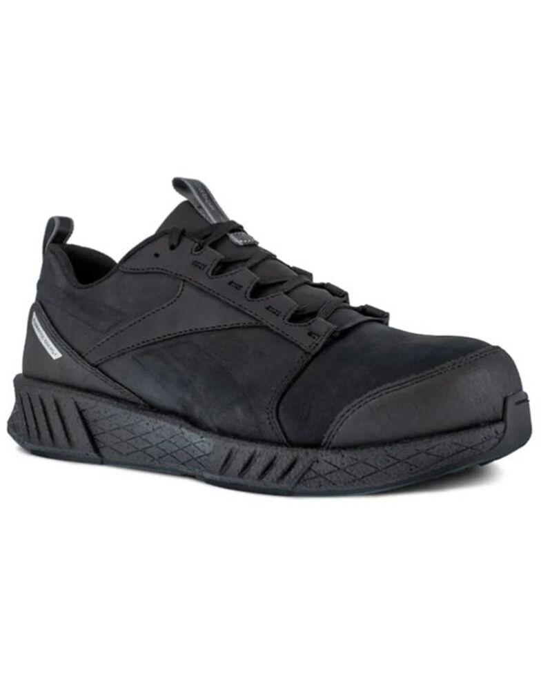 Reebok Men's Fusion Formidable Work Shoes - Composite Toe, Black, hi-res