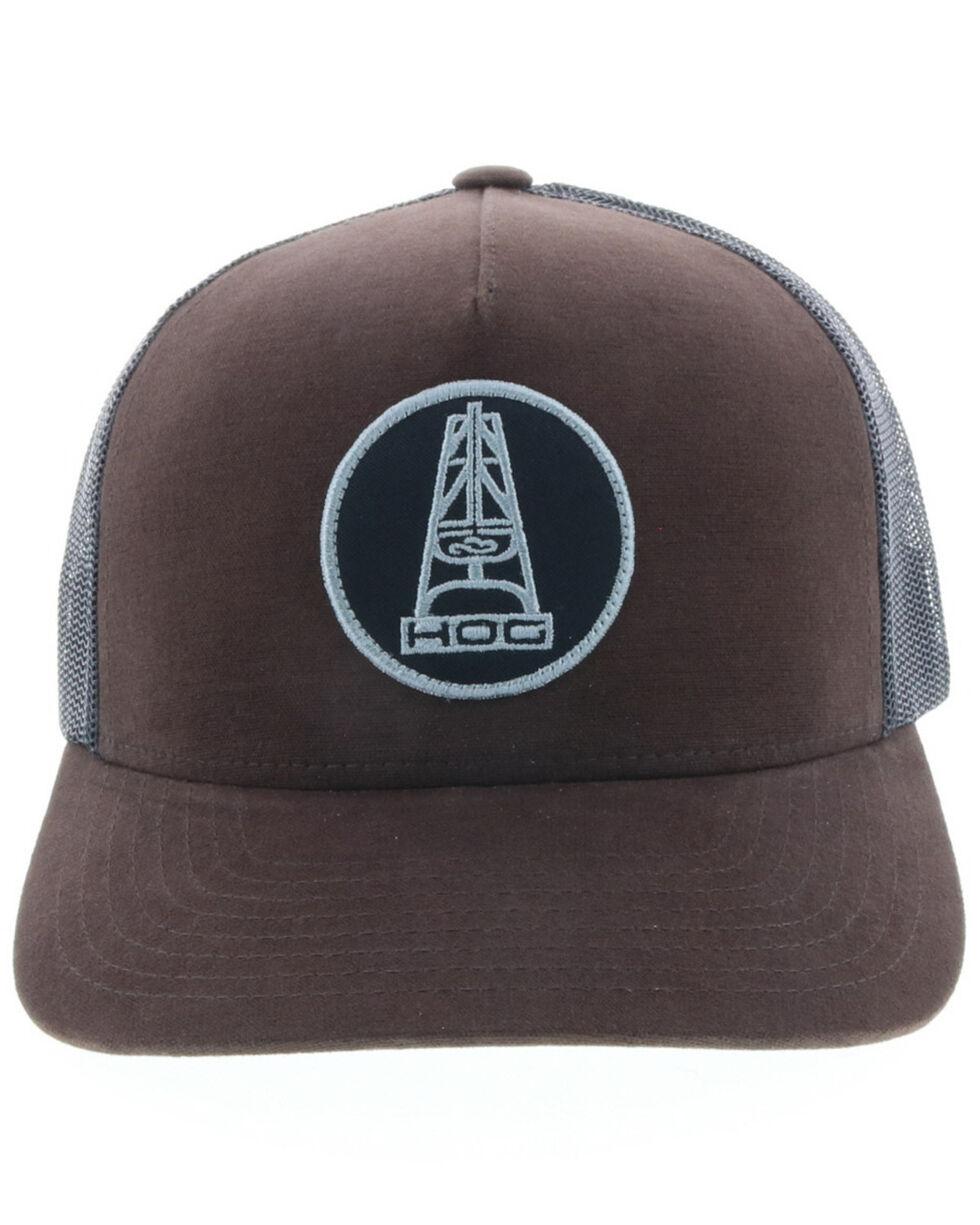 HOOey Men's Brown Oil Money Trucker Cap, Brown, hi-res