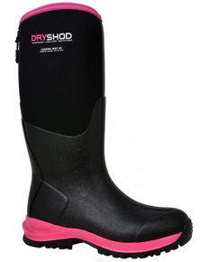 Dryshod Women's Legend MXT Rubber Boots - Soft Toe, Black, hi-res