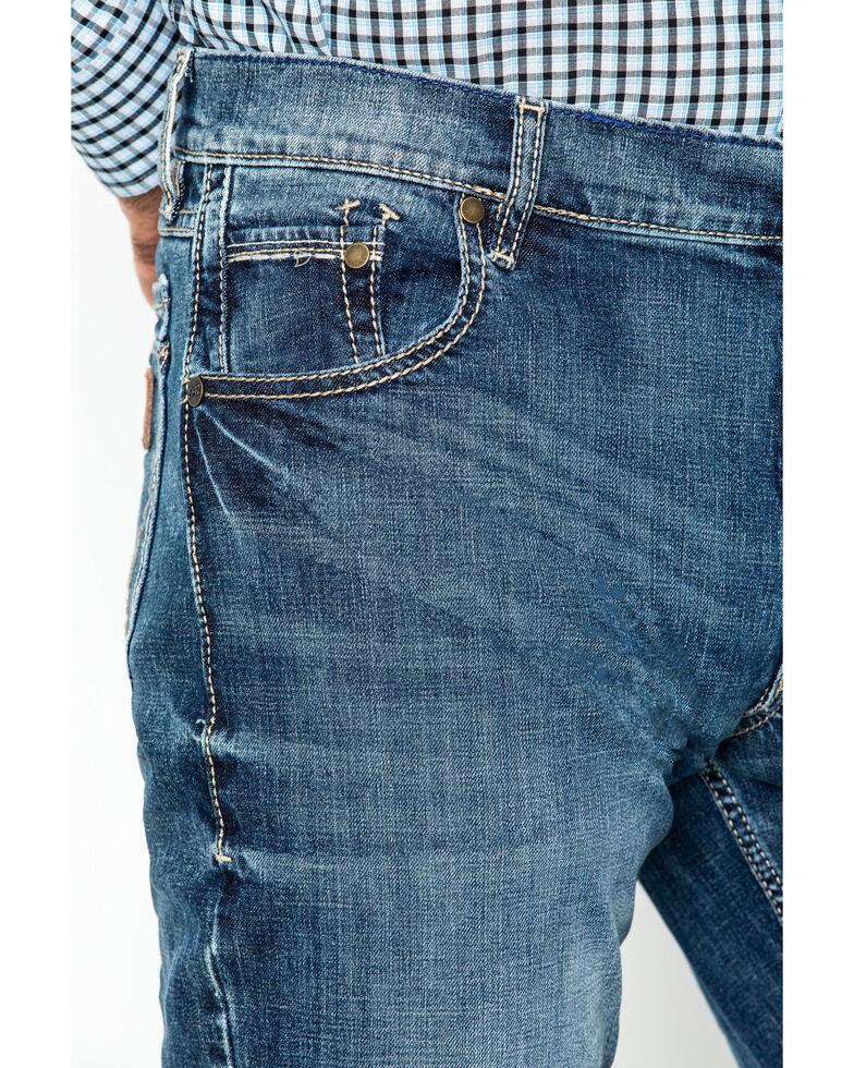 Wrangler Retro Men's Layton Slim Fit Bootcut Jeans, Denim, hi-res
