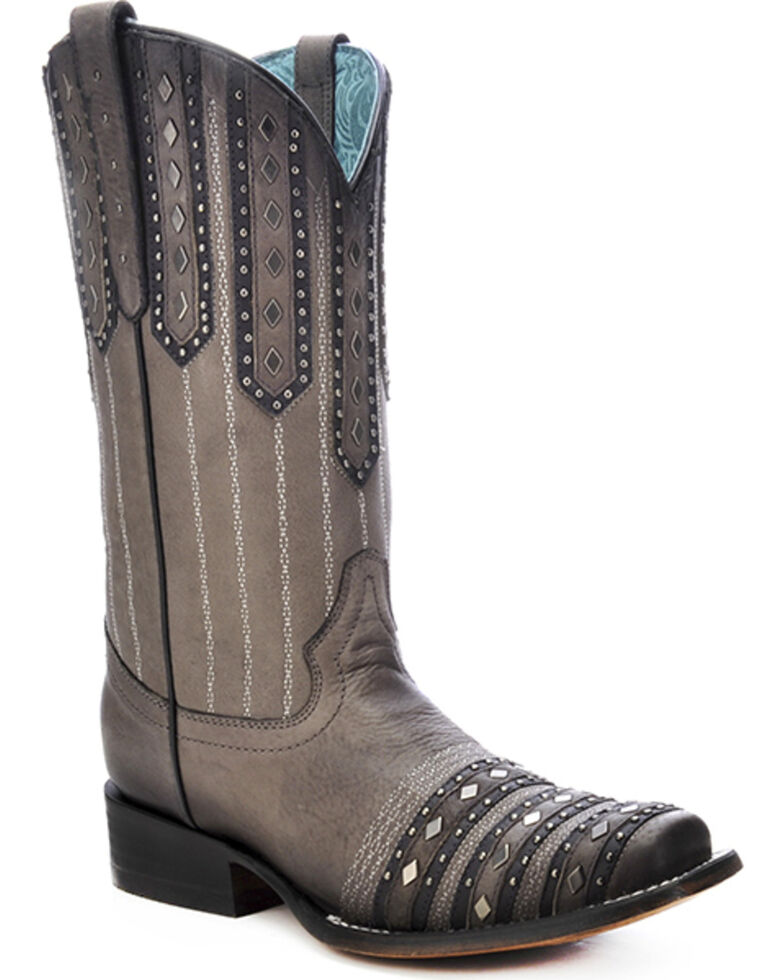 corral-womens-studded-patch-cowgirl-boots---square-toe by corral