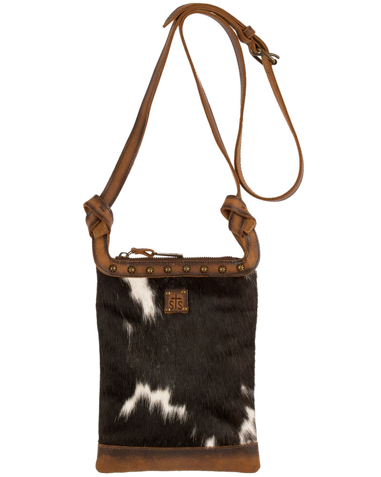 STS Ranchwear Women's Classic Cowhide Crossbody Bag, , hi-res