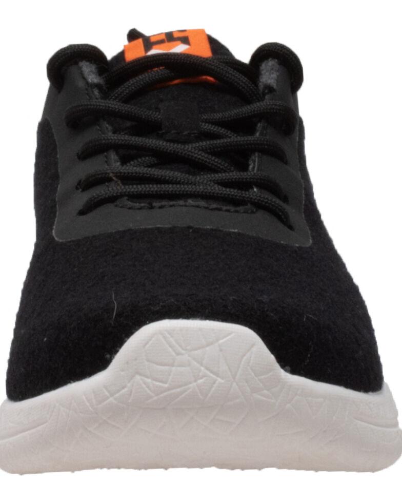 Freeshield Men's Real Wool Casual Shoes, Black, hi-res