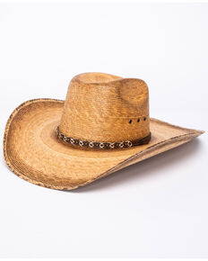 Cody James Men's 15X Toasted Palm Rep Cowboy Hat, Natural, hi-res