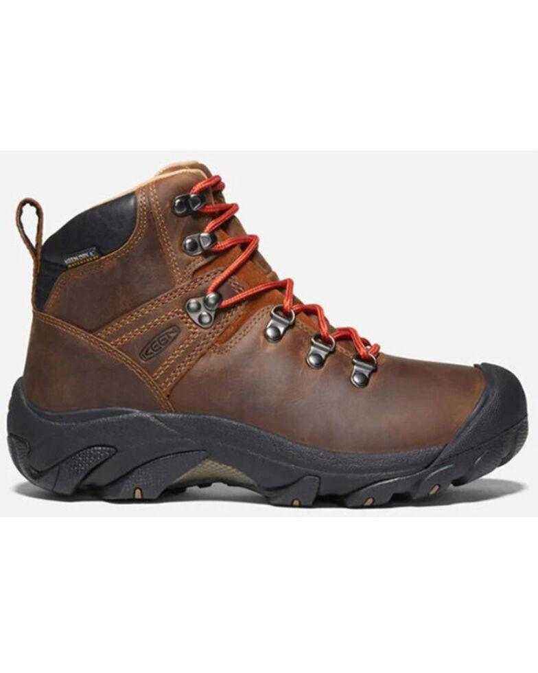Keen Women's Pyrenees Waterproof Hiking Boots - Soft Toe, Brown, hi-res