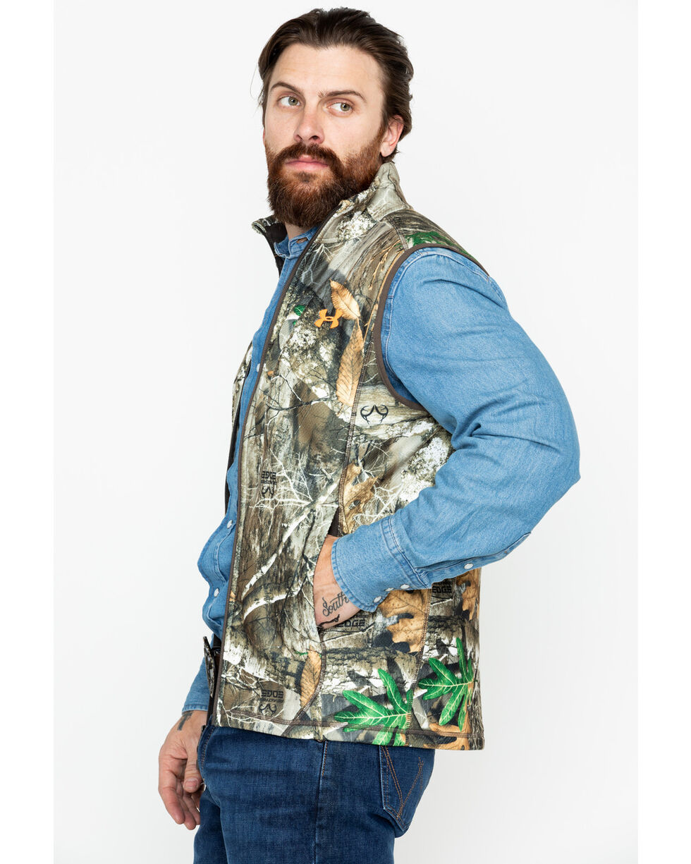 Under Armour Men's Zephyr Off Grid Fleece Camo Vest  , Camouflage, hi-res