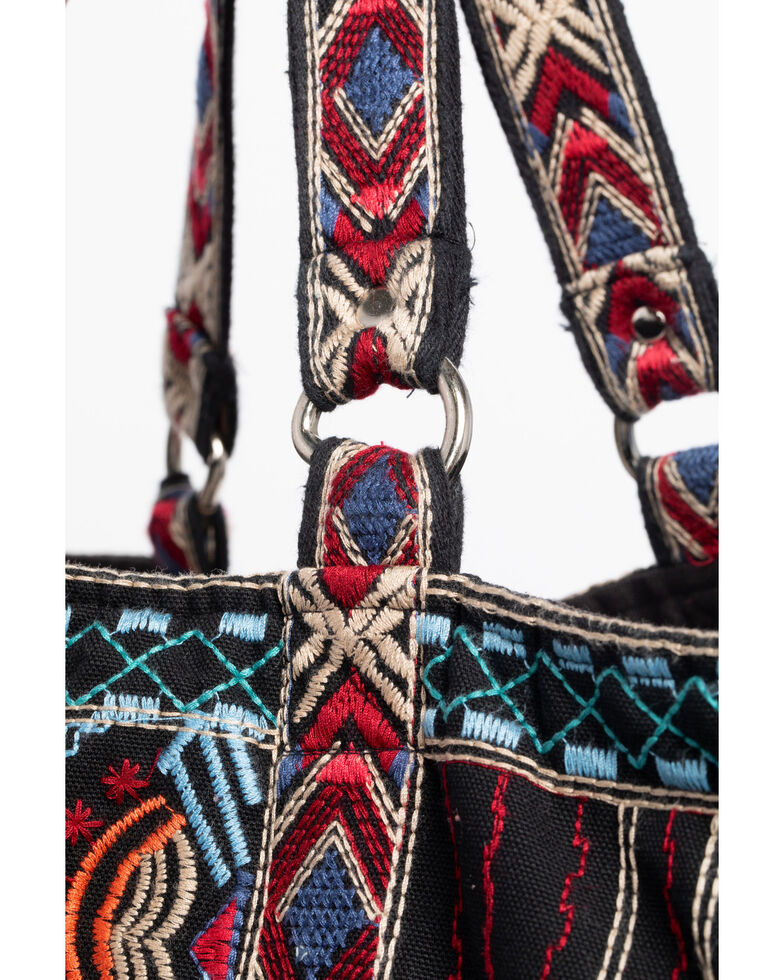 Johnny Was Women's Sonoma Tote Bag , Black, hi-res