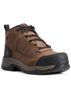 Ariat Men's Telluride Waterproof Work Boots - Composite Toe, Brown, hi-res