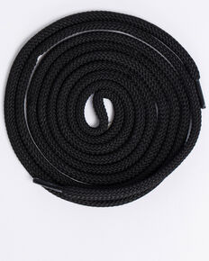 """BB Ranch® 63"""" Black Boot Laces, Black, hi-res"""