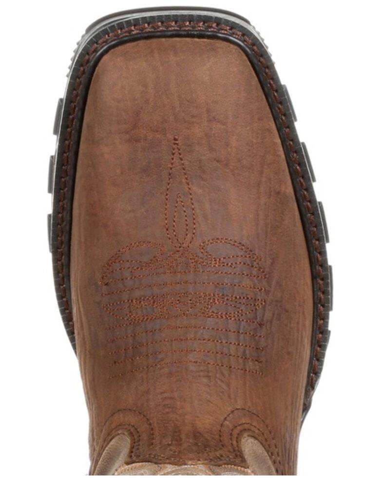 Durango Men's Maverick XP Western Work Boots - Composite Toe, Brown, hi-res