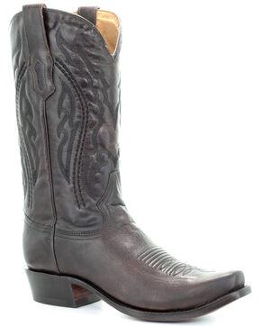 Corral Men's Jim Brown Western Boots - Narrow Square Toe, Chocolate, hi-res