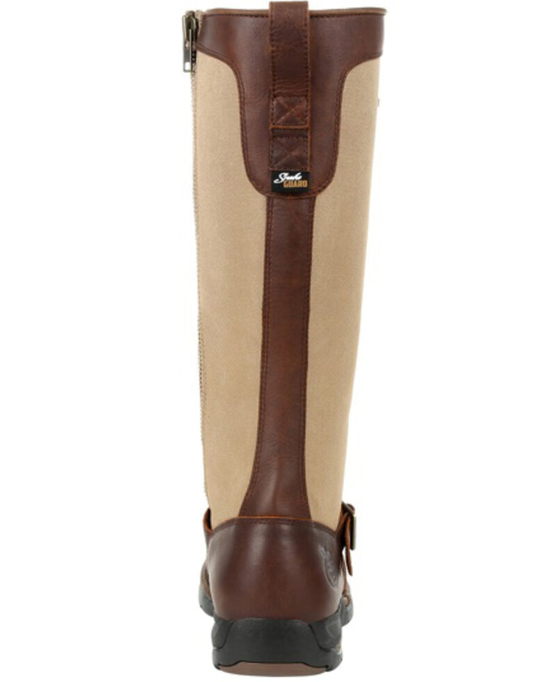 Georgia Boot Men's Athens Waterproof Snake Boots - Soft Toe, Brown, hi-res
