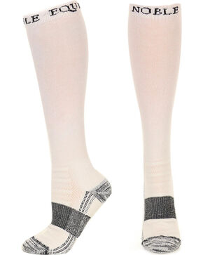 Noble Outfitters Men's White Best Dang Boot Socks , White, hi-res