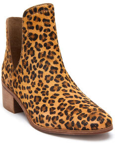 Matisse Women's Pronto Leopard Print Fashion Booties - Round Toe, Leopard, hi-res