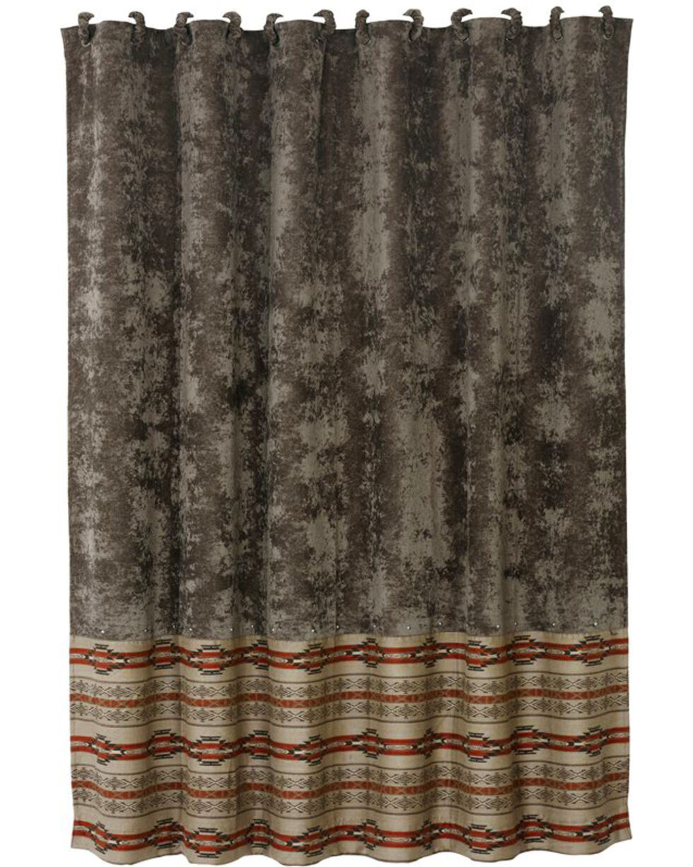 HiEnd Accents Silverado Matching Shower Curtain, Multi, hi-res