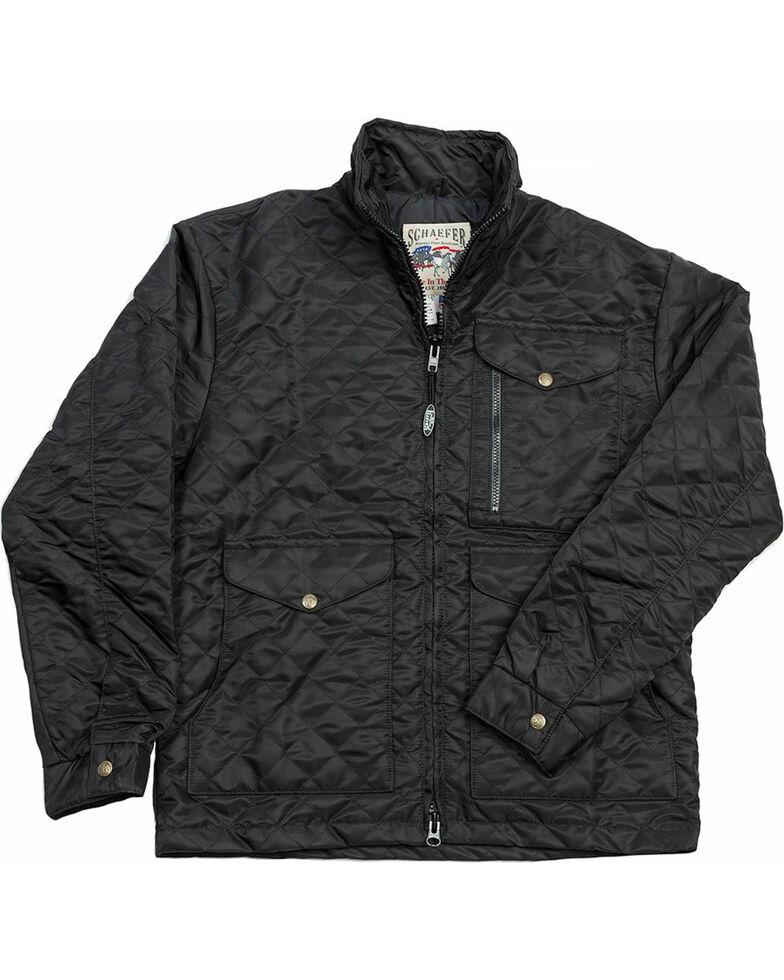 Schaefer Outfitter Men's Black Canyon Cruiser Jacket , Black, hi-res