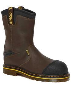 Dr. Martens Men's Firth Waterproof Western Work Boots - Steel Toe, Black, hi-res