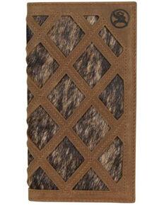 HOOey Men's Roughy Rodeo Wallet, Brown, hi-res