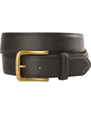 Cody James Men's Classic Genuine Leather Belt, Black, hi-res