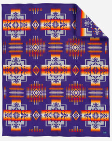 Pendleton Chief Joseph Blanket, Purple, hi-res