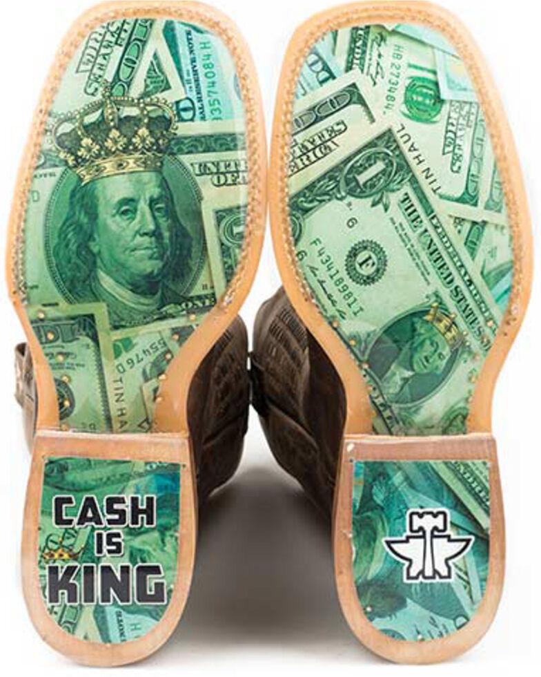 Tin Haul Men's Money Talks Western Boots - Square Toe, Black, hi-res