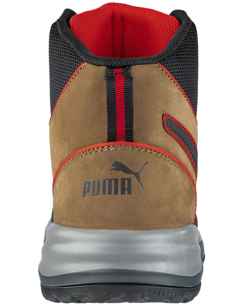 Puma Men's Rapid Impulse Work Boots - Composite Toe, Brown, hi-res