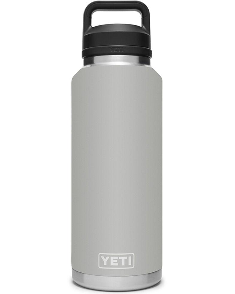 Yeti Grey Rambler 46oz Chug Cap Bottle, Grey, hi-res