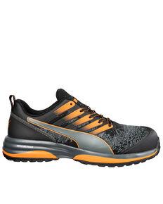 Puma Men's Charge EH Work Shoes - Composite Toe, Orange, hi-res