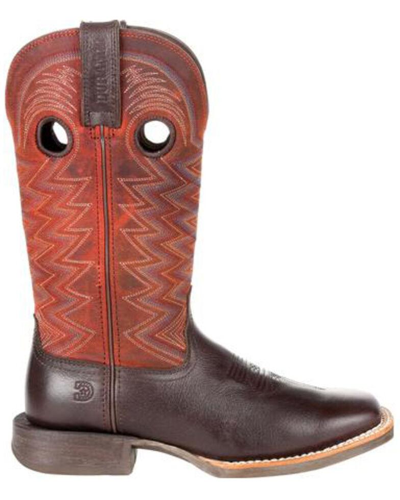 Durango Women's Lady Rebel Pro Crimson Western Boots - Square Toe, Brown, hi-res