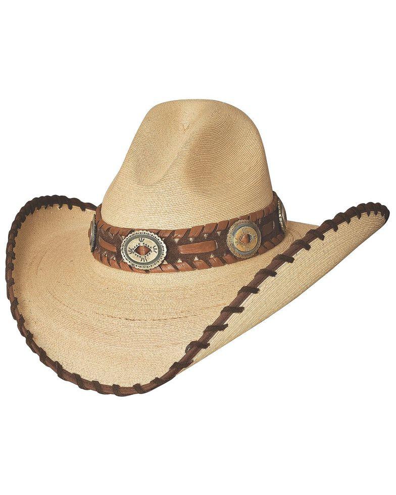 Bullhide Golden Dawn Bangora Straw Cowgirl Hat, Tan, hi-res
