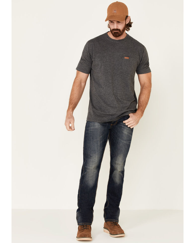 Pendleton Men's Dark Grey Deschutes Pocket Short Sleeve T-Shirt , Dark Grey, hi-res