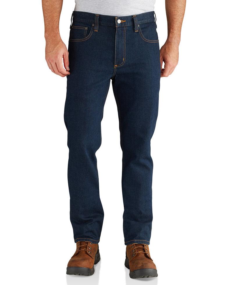 Carhartt Men's Rugged Flex Straight Tapered Jeans , Blue, hi-res