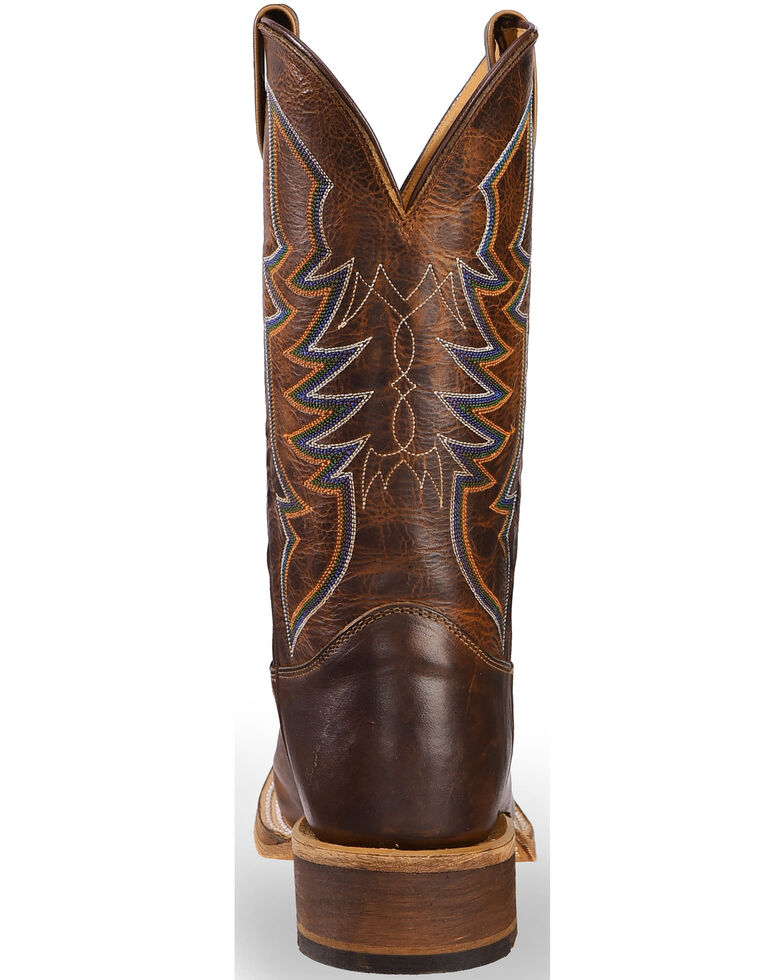 Justin Bent Rail Men's Navigator Western Boots, Brown, hi-res