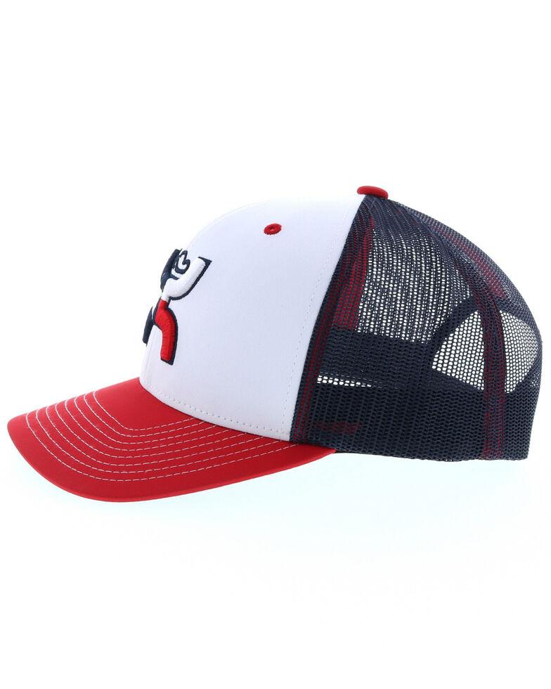 HOOey Men's Texican Trucker Cap, White, hi-res
