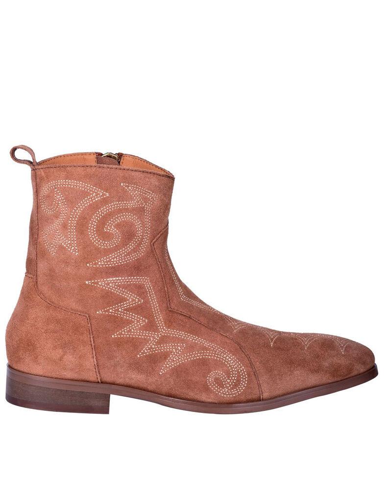 Dingo Men's Brooks Chukka Boots - Round Toe, Tan, hi-res