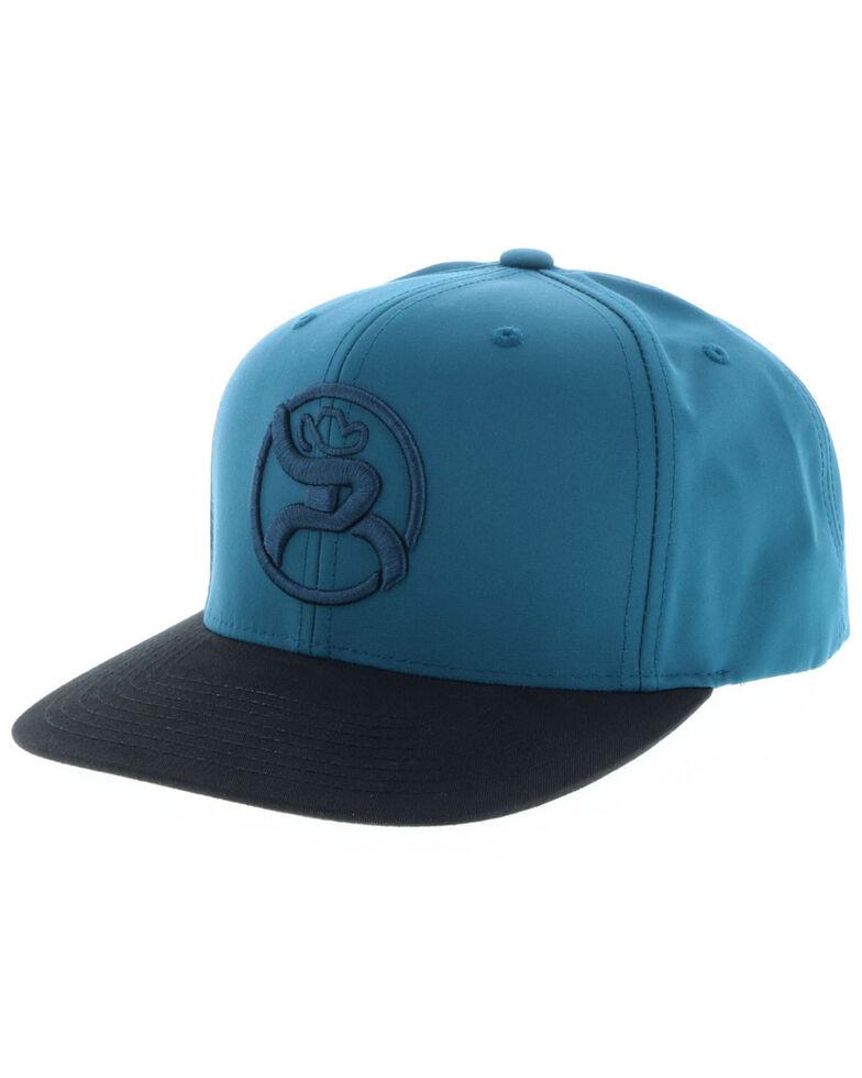 HOOey Men's Teal Roughy Logo Cap, Teal, hi-res