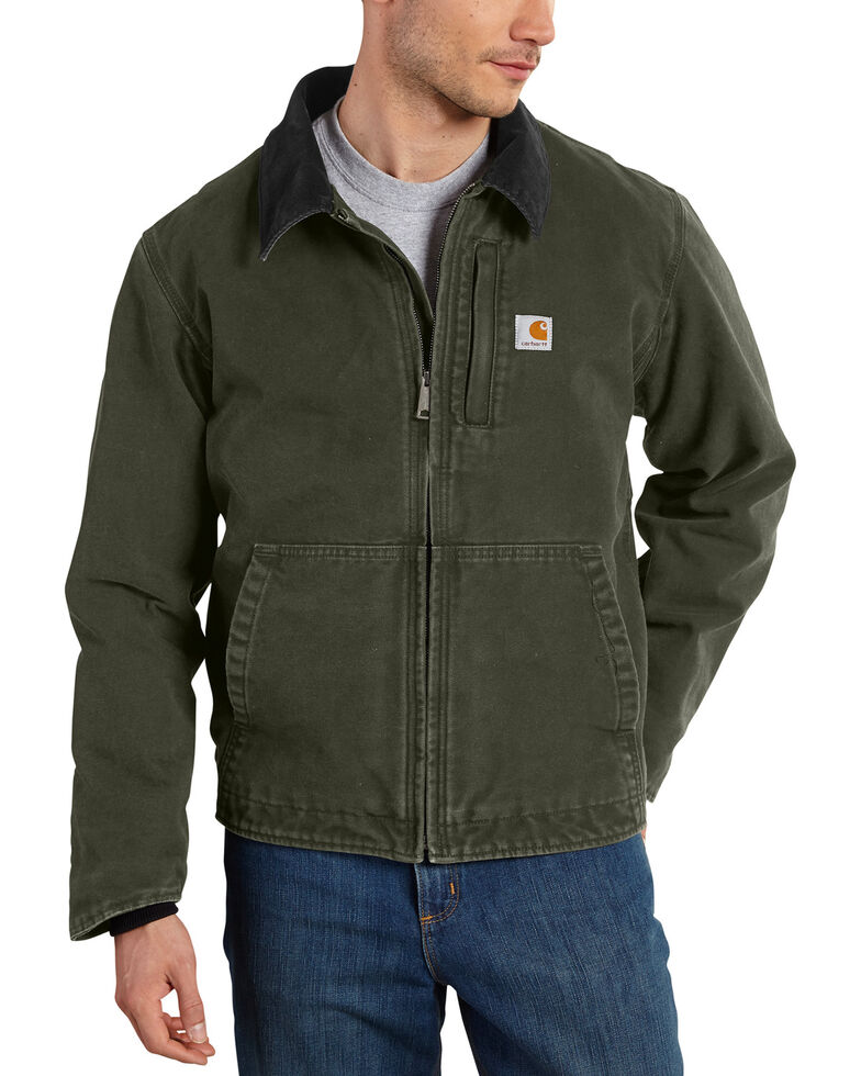Carhartt Men's Full Swing Armstrong Jacket, Moss Green, hi-res