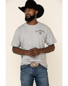 Jack Daniel's Grey No.7 Logo Graphic T-Shirt , Grey, hi-res