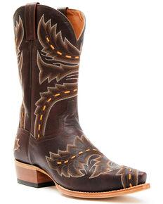 Dan Post Men's Sidewinder Western Boots - Snip Toe, Chocolate, hi-res