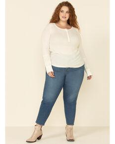 Levi's Women's Moleskin High Rise Wedgie Skinny Jeans - Plus, Blue, hi-res