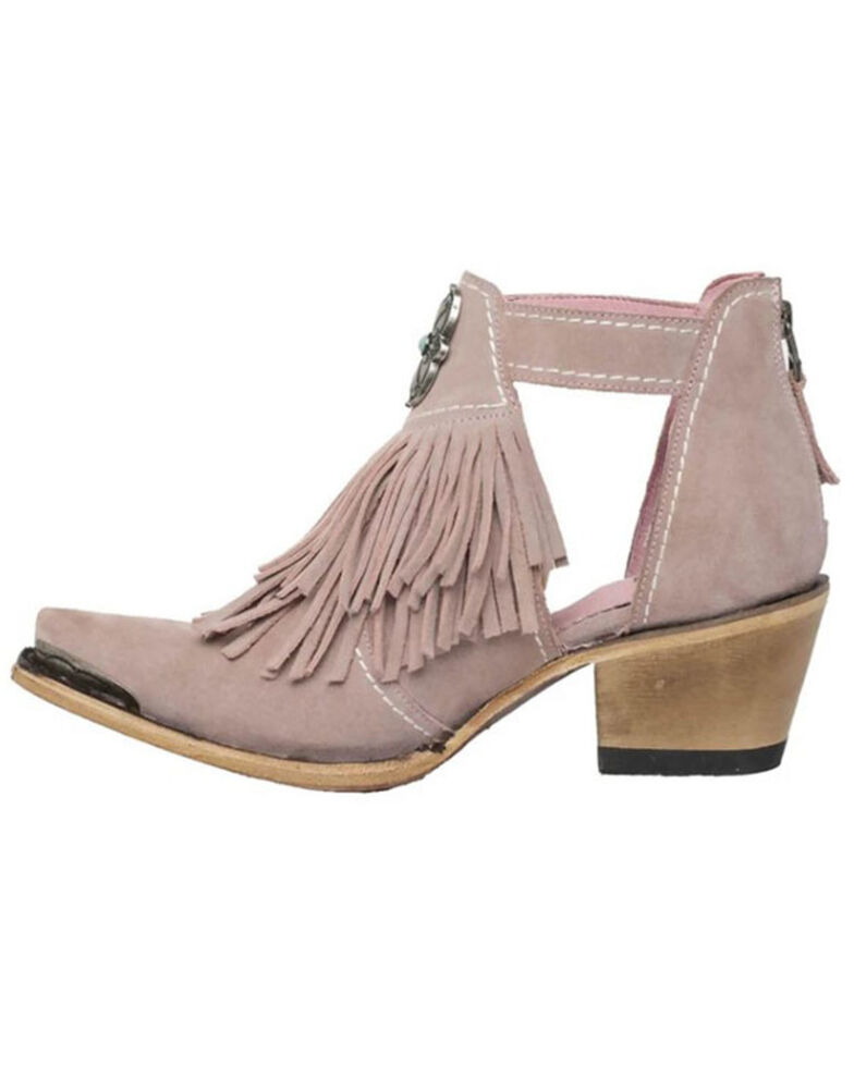 Junk Gypsy by Lane Women's Kiss Me At Midnight Fashion Booties - Snip Toe , Blush, hi-res