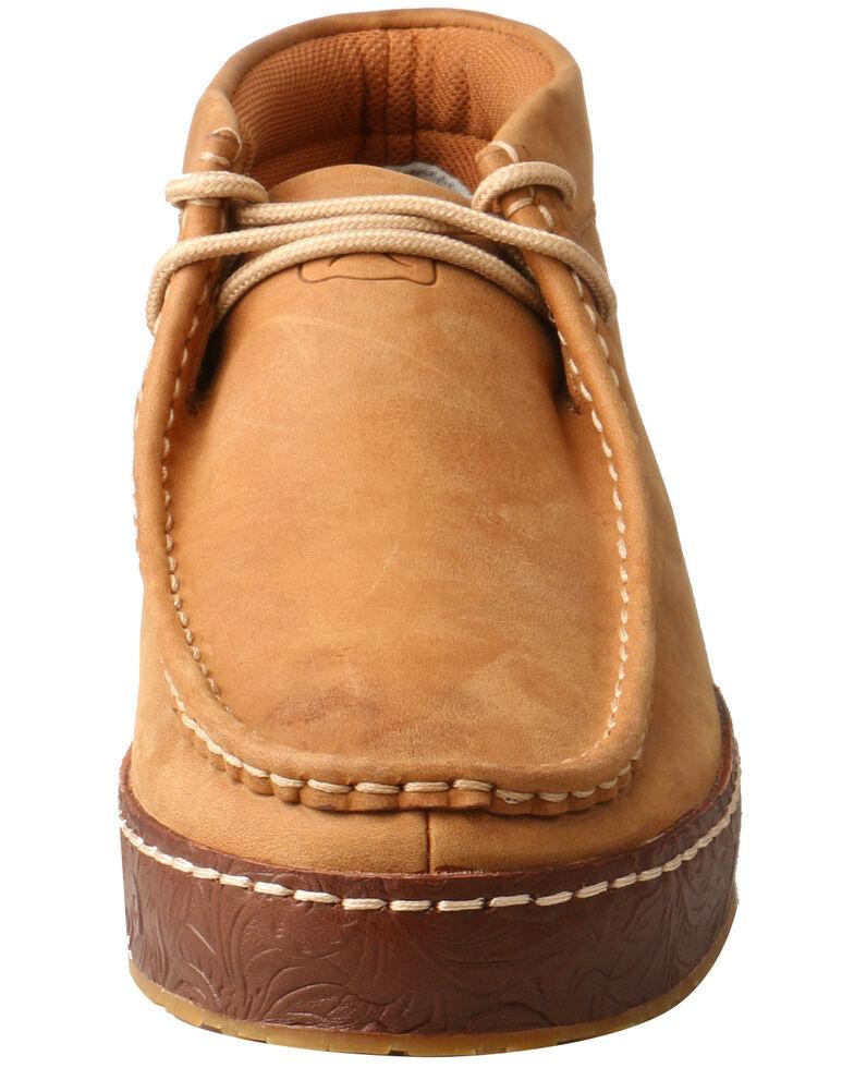 Twisted X Men's Wedge Heel Western Sneakers - Moc Toe, Tan, hi-res