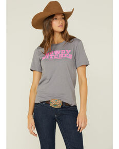 Ranch Dress'n Howdy Bitches Graphic Tee, Grey, hi-res
