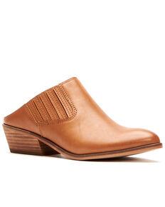 Frye Women's Rubie Mule Boots, Camel, hi-res
