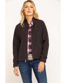 Ariat Women's Coffee Brown Exclusive Team Softshell Jacket , Purple, hi-res