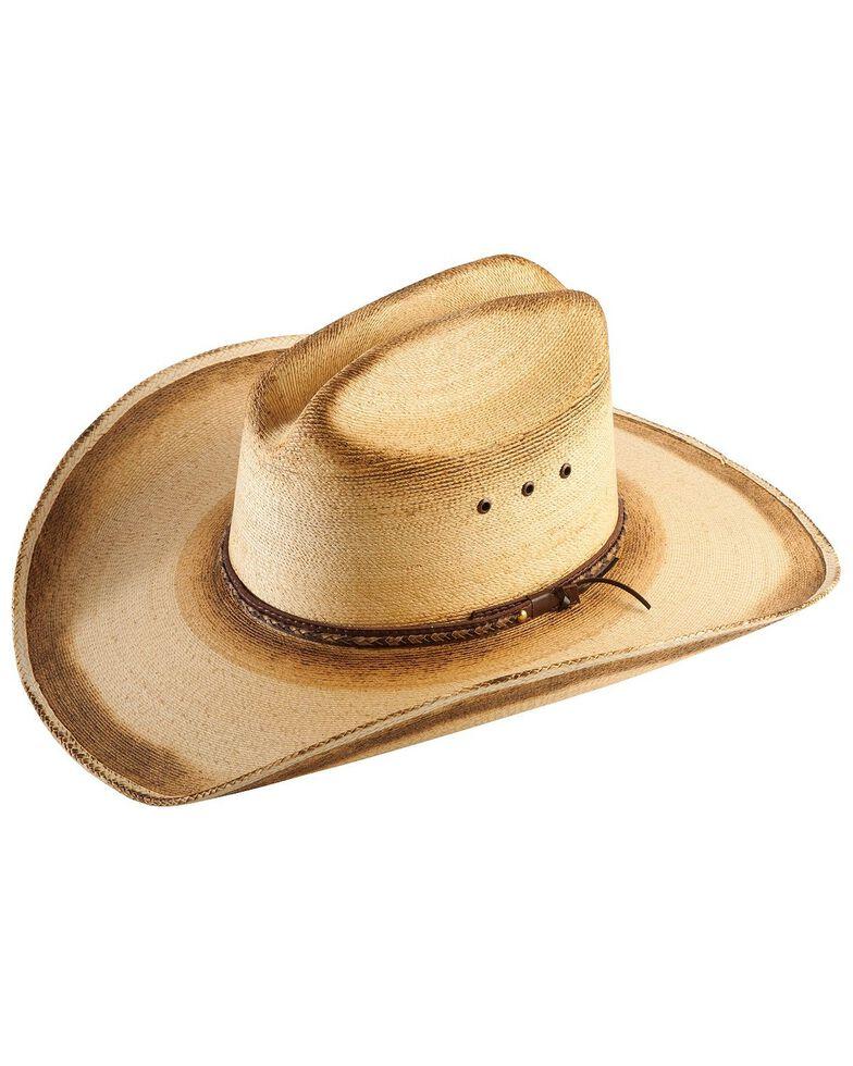 Jason Aldean Men's Georgia Boy Palm Leaf Cowboy Hat , Natural, hi-res