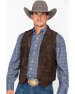 Ryan Michael Men's Flat Creek Vest , Brown, hi-res