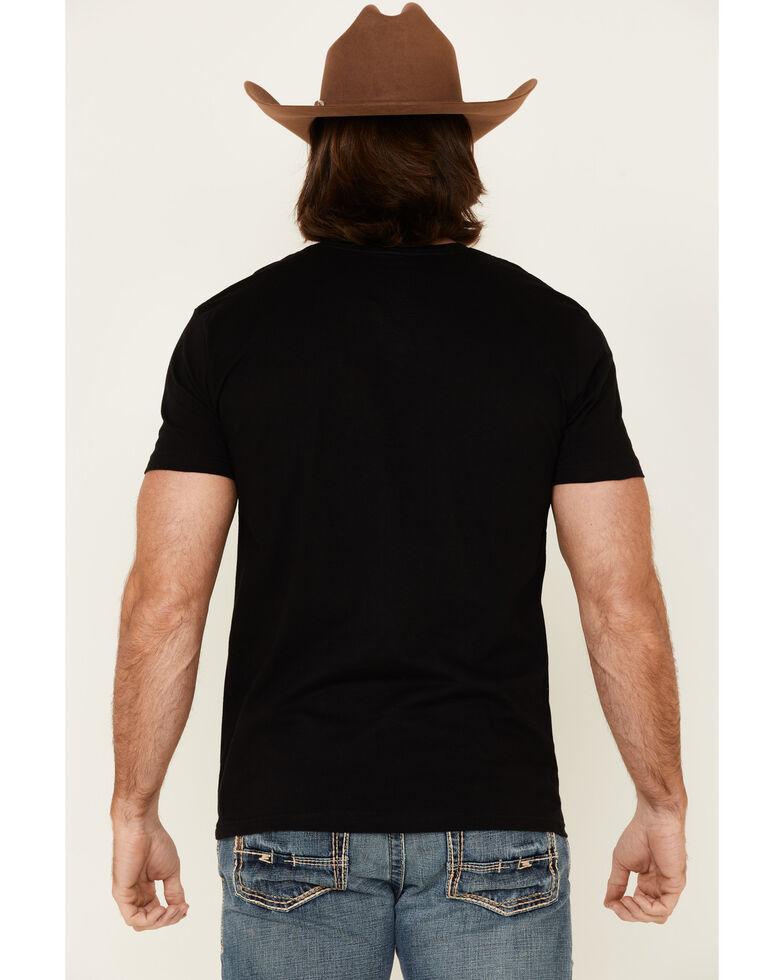 Cody James Men's Live Fast Graphic Short Sleeve T-Shirt , Black, hi-res