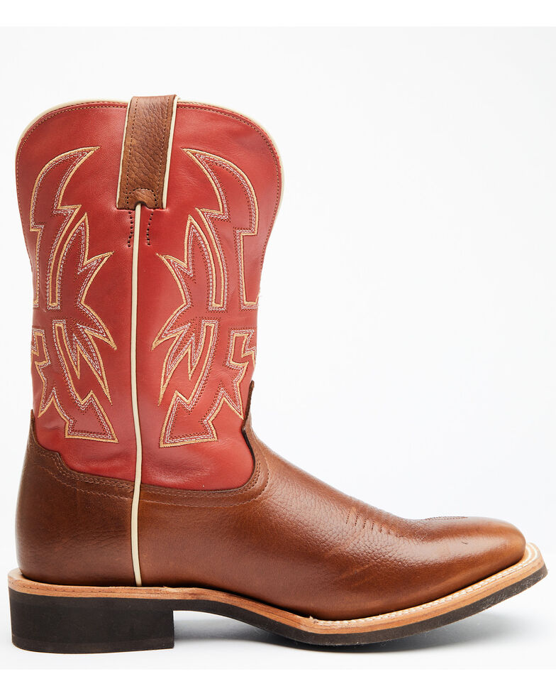 Cody James Men's Addison Western Boots - Wide Square Toe, Tan, hi-res
