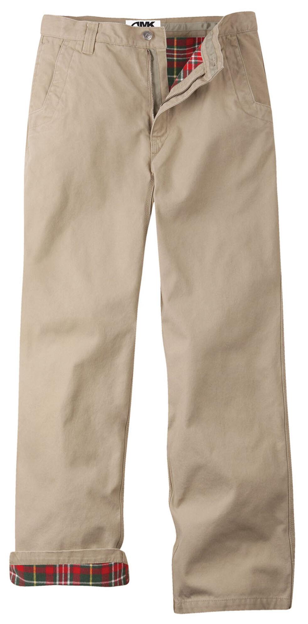 Mountain Khakis Men's Flannel Relaxed Fit Original Mountain Pants , Khaki, hi-res